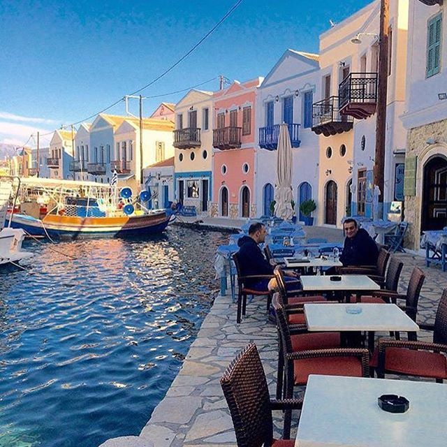Kastelorizo, Greece ...    #greece