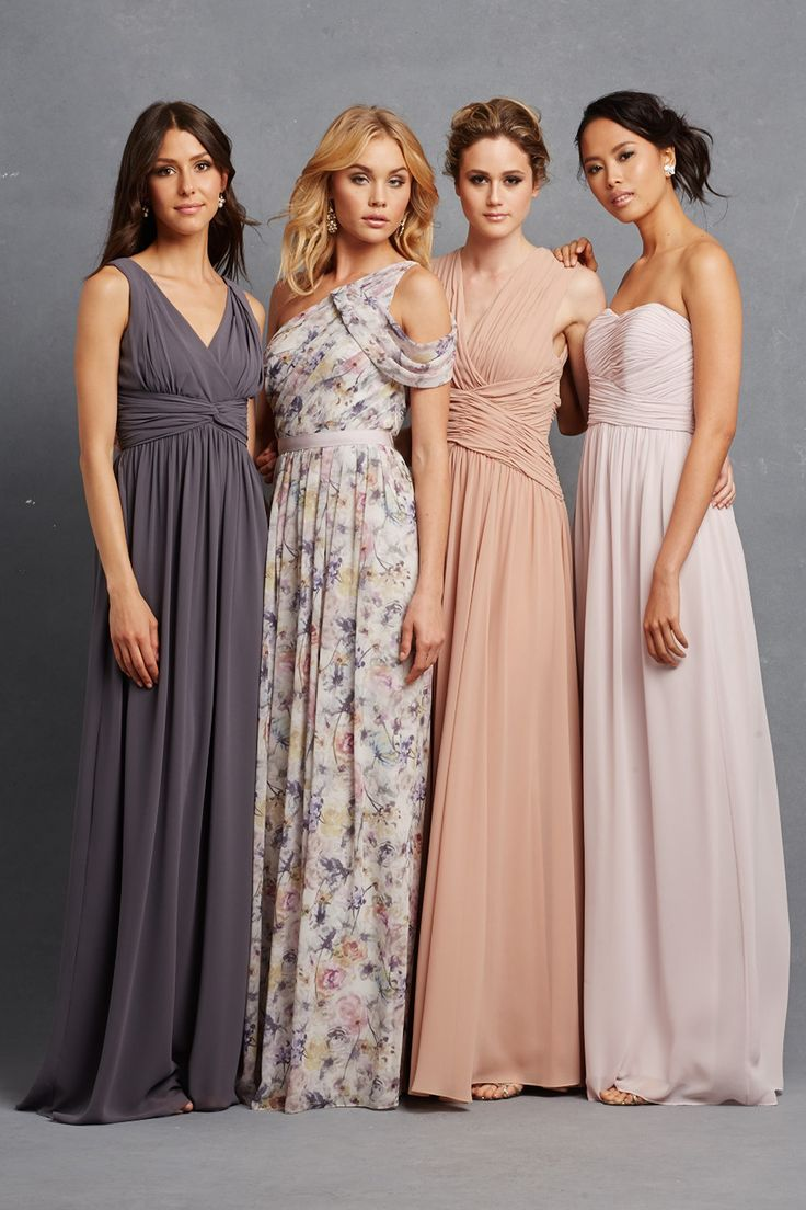 247 best bridesmaids images on pinterest bridesmaids wedding donna morgans new serenity collection launches on june 15th new styles new textiles printed bridesmaid dressessequin ombrellifo Images