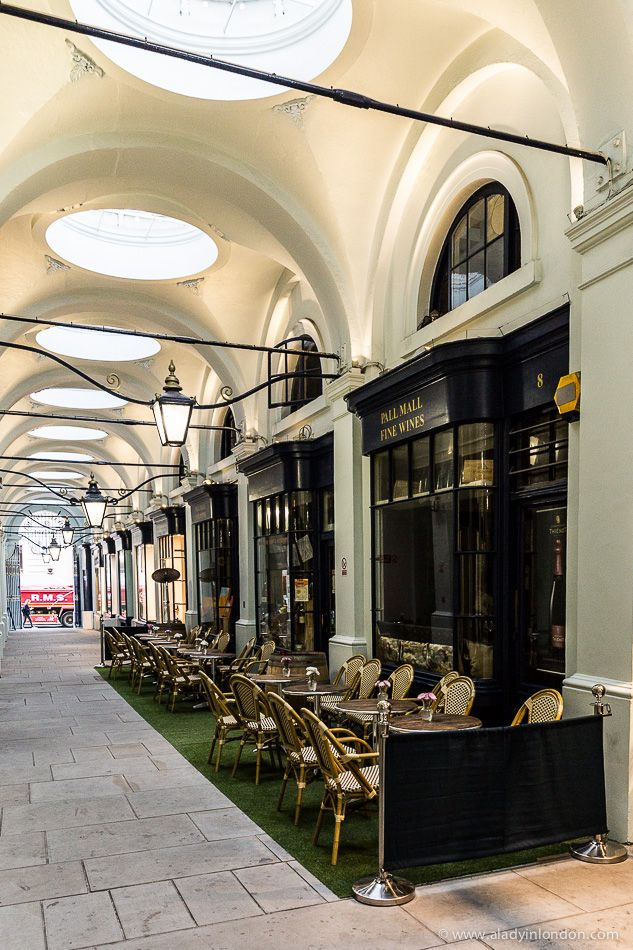 Royal Opera Arcade, St James's, London