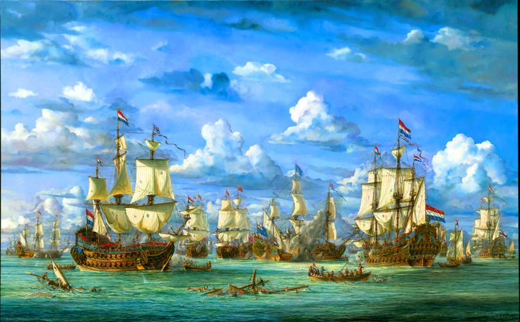 The Battle of Solebay 1672, Anglo-Dutch War