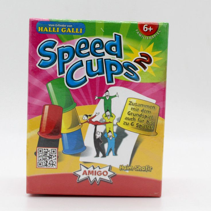 New Classic Card Games Speed Cups English Version Card Game Family And Children | eBay