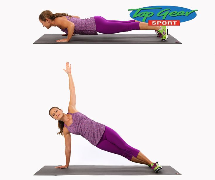 #WellnessWednesday: A T-Push Up is a great exercise to help warm-up your upper body, especially the shoulders, while also activating your entire core. This activity helps in a very effective cardiovascular exercise to support heart health and further promotes in reduction of the stored fat in the body. #TopGearSport