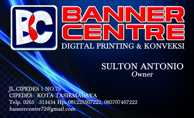 Banner Centre - Name Card by Joen@f