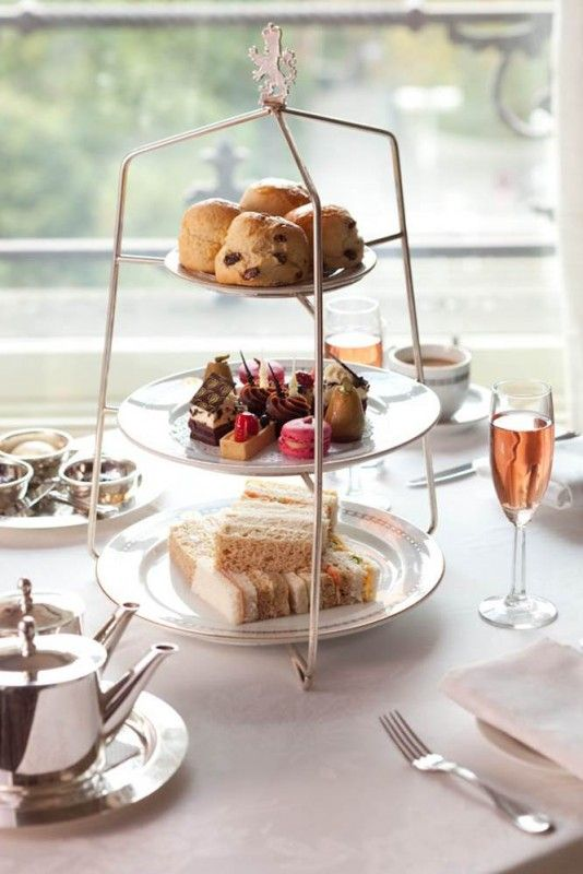 Afternoon tea at The Windsor Hotel, Melbourne