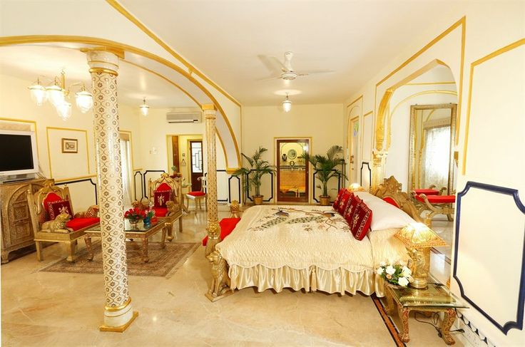 The Presidential Suite, The Raj Palace Hotel, Jaipur, India...