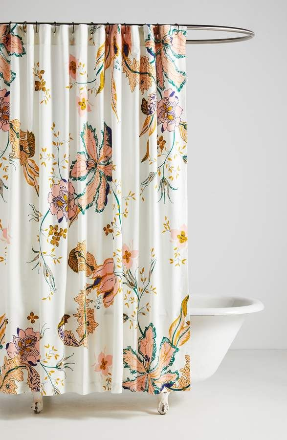 Anthropologie Home Porte Bonheur Shower Curtain With Images