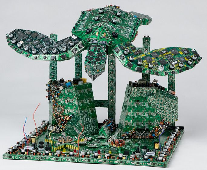 8 best Circuit Board Art images on Pinterest | Circuits, Computers ...