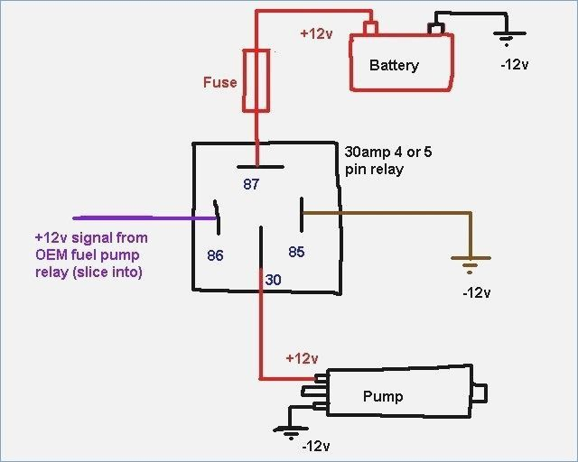 50 Fresh 12 Volt Relay Wiring Diagram Electrical Circuit Diagram Circuit Diagram Trailer Wiring Diagram