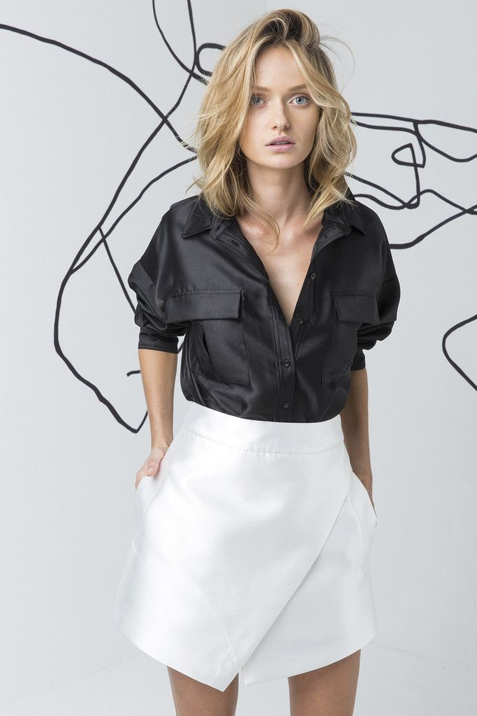 C/MEO COLLECTIVE black shirt available at suitster.com