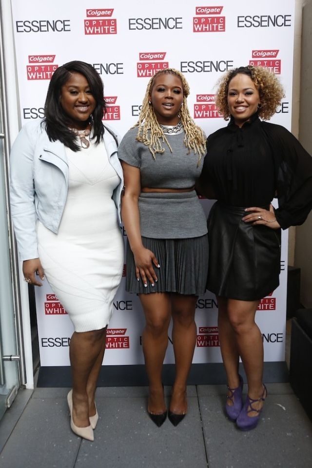 Claire's Life: Essence's 2016 Best in Black Beauty Event with Colgate Optic White High Impact White, Jazmine Sullivan, and Elle Varner
