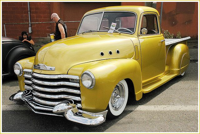1948 Chevy Pickup---now talk about an absolute beauty folks!!!! OMFGosh!!!!! In love for sure---