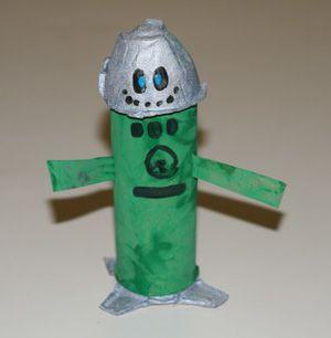 toddler robot craft