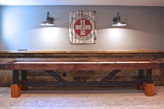 Our Signature Industrial Farmhouse Artisan SHUFFLE BOARD