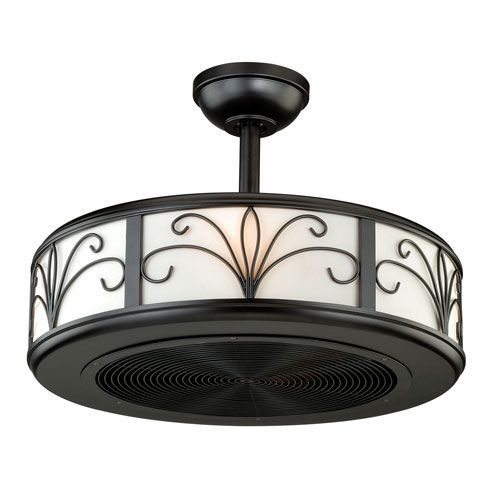 vaxcel veranda new bronze four light drum ceiling fan