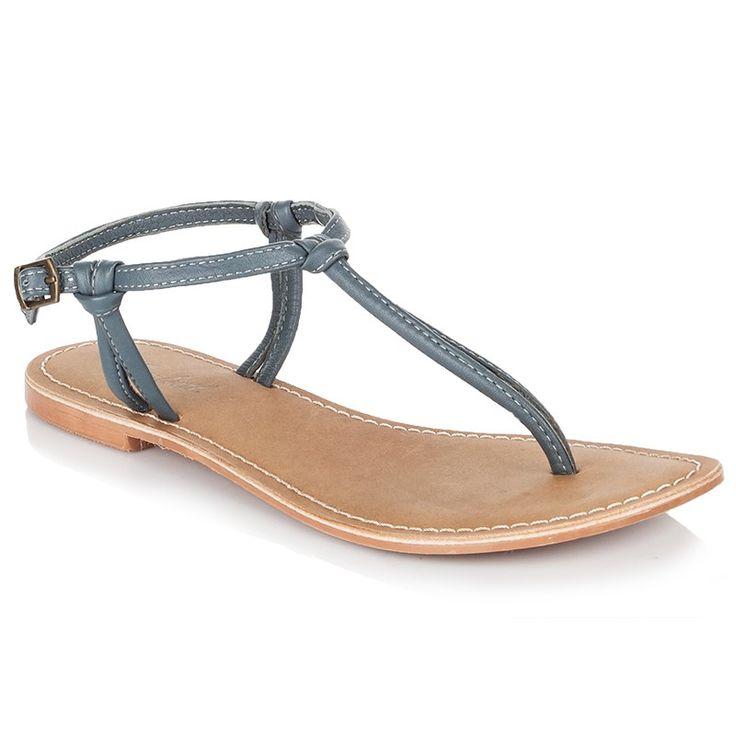 Rare Earth Raina Thong Sandals - Mid Blue