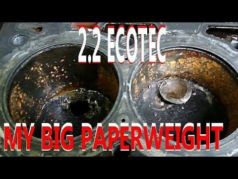 My BIG Paper Weight - 2.2 Ecotec Blown Engine 2006 Chevy Cobalt