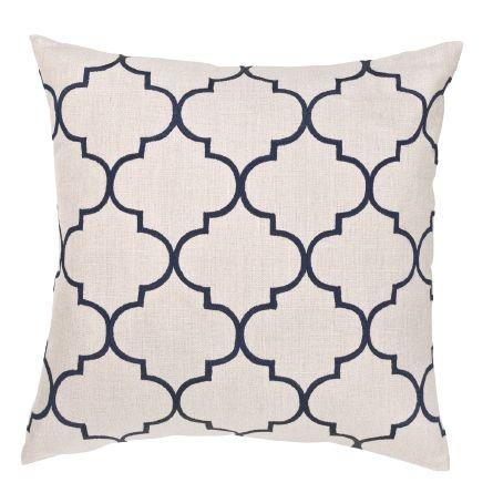 Bocce Navy Cushion Boyd Blue