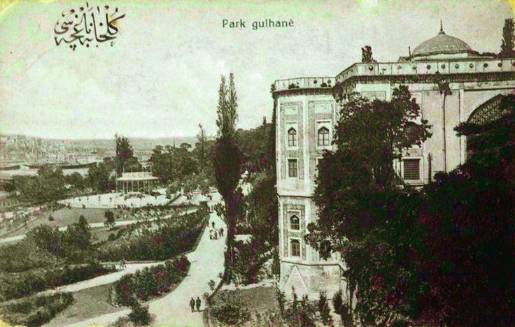 Eski İstanbul Fotoğrafları: Gülhane Parkı