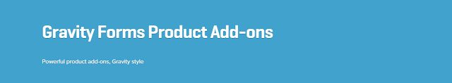 WooCommerce plugins: WooCommerce Gravity Forms Product Add-ons 2.10.6 E...