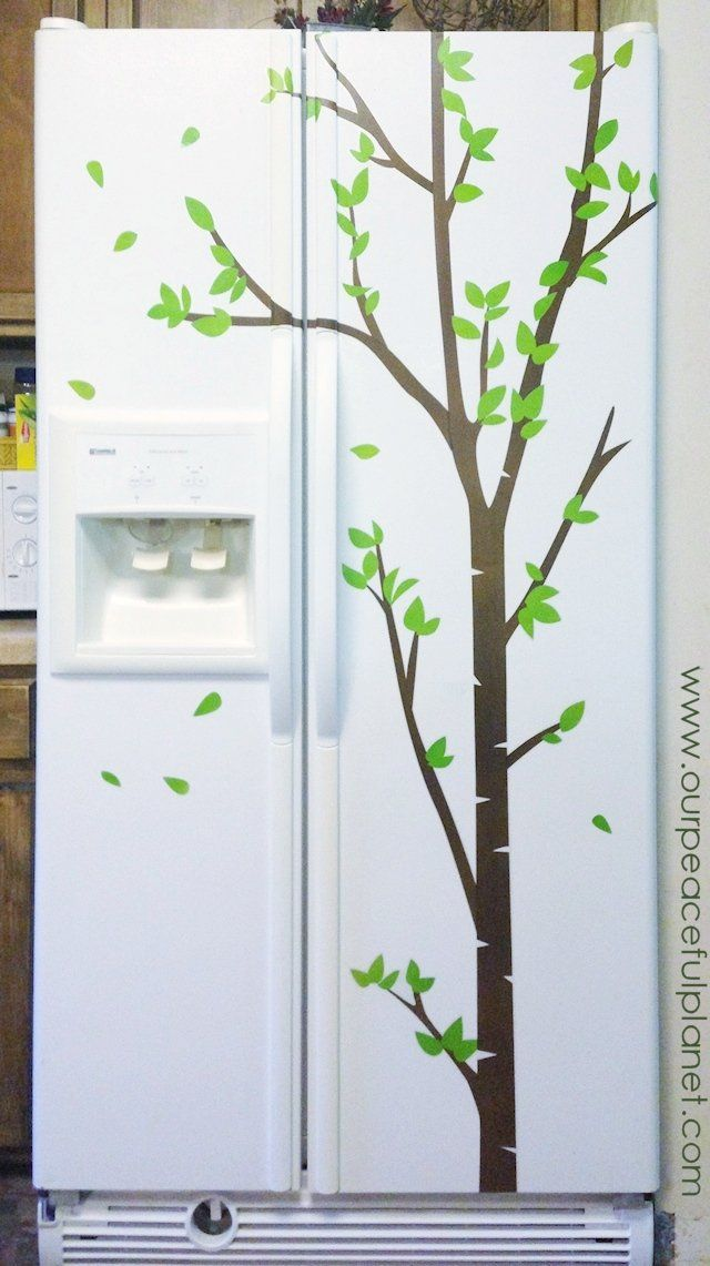 Old Refrigerator? Give It a New Unique Look!