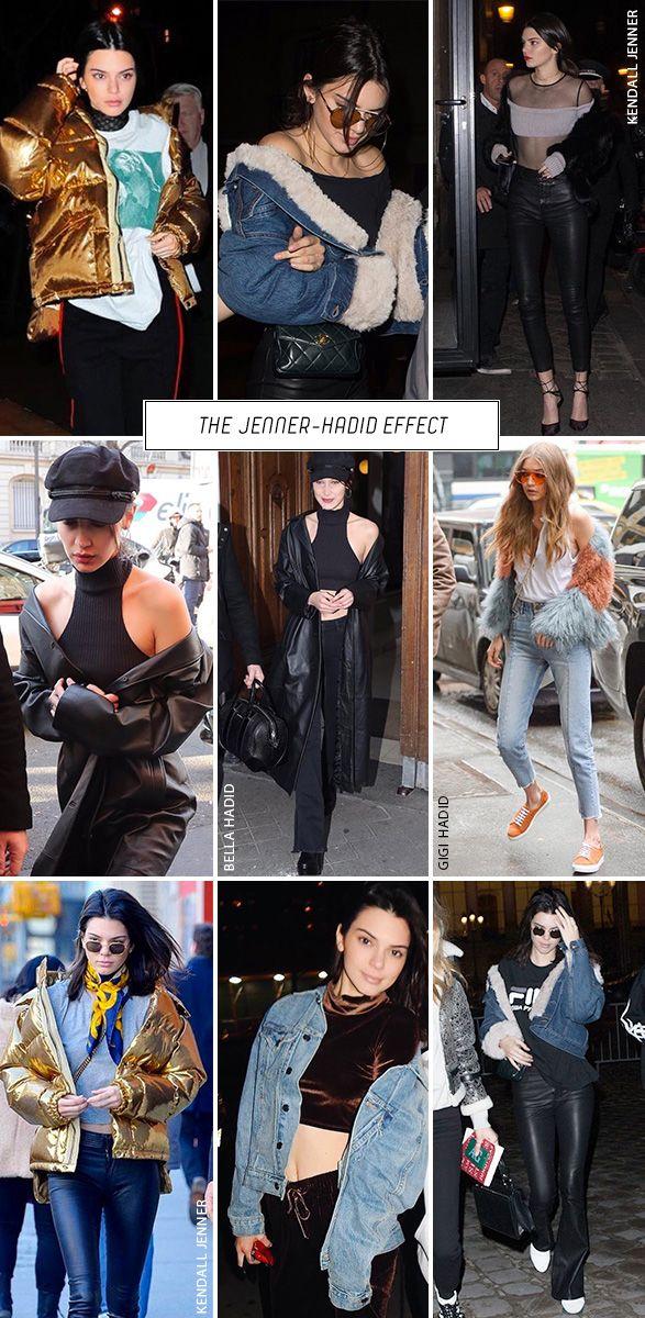O trend alert da vez, muito usado por Kendall Jenner, Bella Hadid e Gigi Hadid é o casaco caido nos ombro. O truque funciona com qualquer tipo de casaco