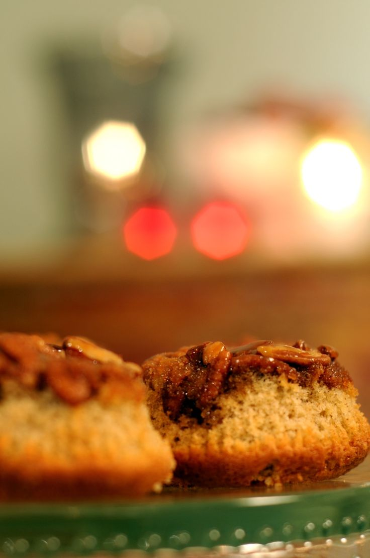 Leilas Lindholms sticky pecan cupcakes | Recept.nu