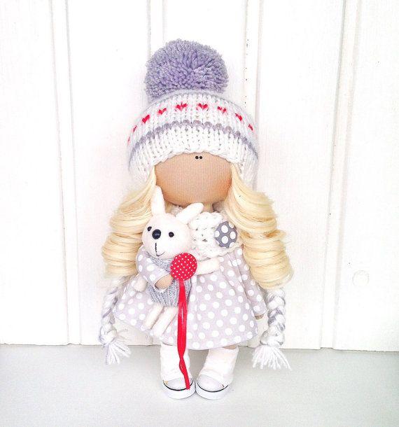 Fabric doll Baby doll Tilda doll Interior by AnnKirillartPlace