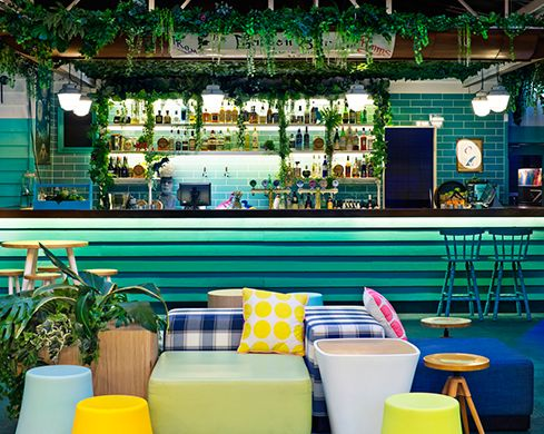 """""""Inhabiting Ann Street in Fortitude Valley, The Woolly Mammoth is a multi-purpose venue and experiential space consisting of three distinct areas — The Alehouse, Garden Bar and Mane Stage"""""""