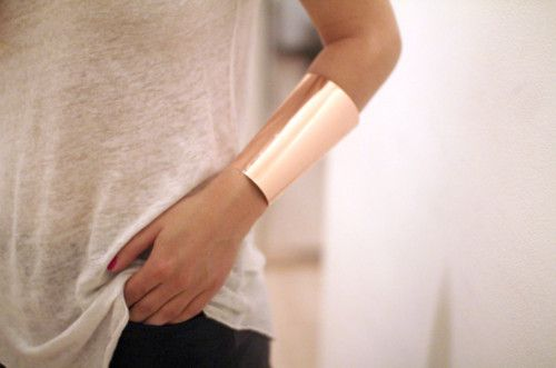 cuffCuffs Bracelets, Fashion, Gold Rush, Casual Style, Gold Cuffs, Jewelry Bracelets, Accessories, Arm Candies, Rose Gold