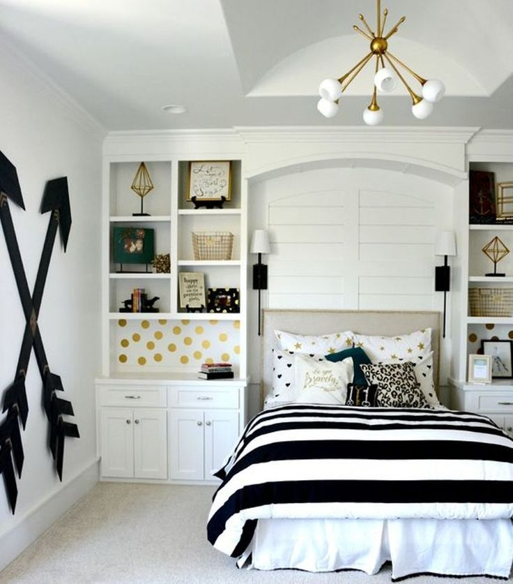 Best 25+ Gold Teen Bedroom Ideas On Pinterest | Black Bed Room