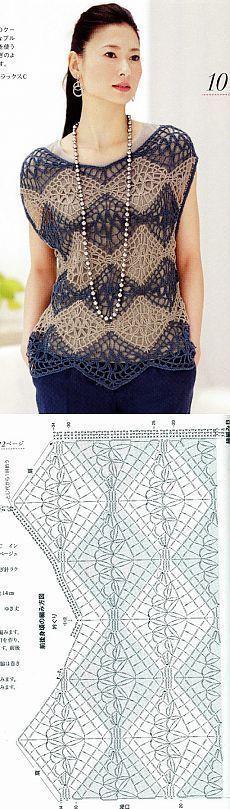 Без заголовка [] # # #Crochet #Blouse, # #Crochet #Skirts, # #Crochet #Clothes, # #Crochet #Tops, # #Crochet #Ideas, # #Crochet #Patterns, # #Shawls, # #Blusas #Crochet, # #Clothes