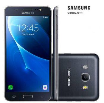 Samsung Galaxy J5 Metal 2016 Dual Sim 4G Tela 5.2 Câmera 13MP  Frontal 5MP com Flash 16GB << R$ 99990 em 10 vezes >>