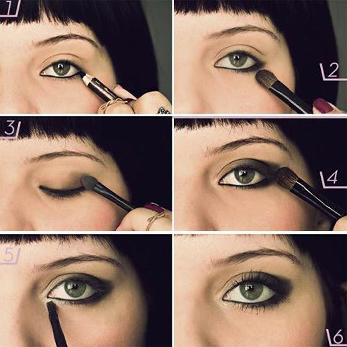Maquilhagem dos olhos