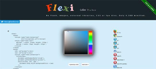Top 5 Most Helpful Javascript Color Pickers - DesignsLayer