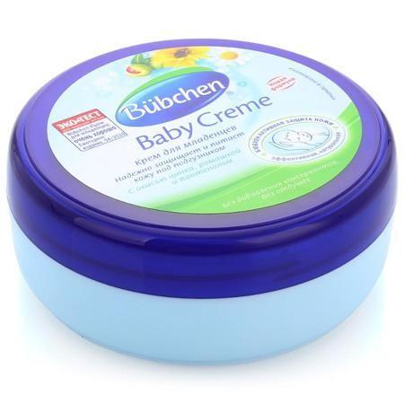 Крем под подгузник Bubchen, 150 мл  — 310р. -------------------- Крем для младенцев Bubchen.  Особенно эффективно защищает кожу в местах, закрытых пеленкой или подгузником. Идеален для профилактики опрелостей. Прекрасно снимает раздражение и воспаление, а также ухаживает за кожей в области ягодиц и паховой области. Идеален для длительных ночных пауз. Экономичен в использовании.