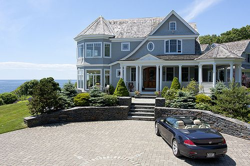 TumblrLakes House, Beach House, Blue Sky, Summer House, The Ocean, Dreams House, Blue House, Vacations House, Dreams Life