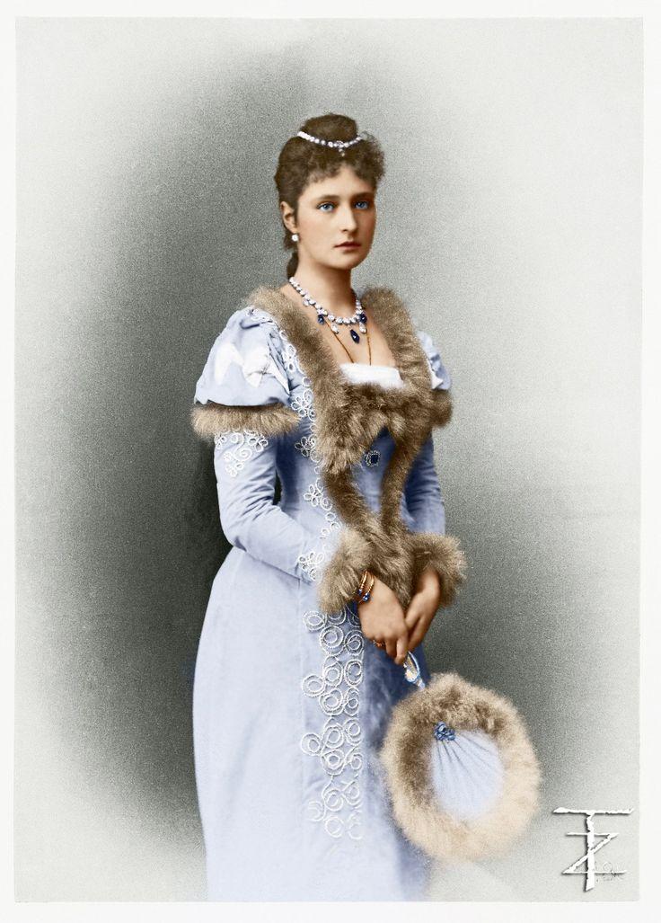 Императрица Александра Фёдоровна . Императрица Александра Федоровна