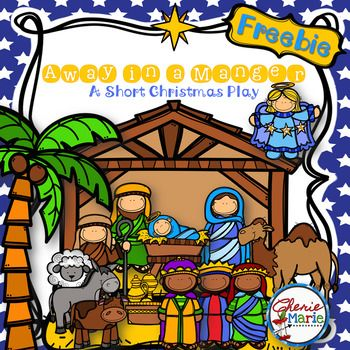 Faith FREEBIE:  This short script can be used as a play performance or as a readers' theater activity in the classroom.  Told mainly by the animals in the manger, students learn the story of the birth of Jesus through their perspective.  This script includes 6 roles and suggested songs that have hyperlinks to online versions that can be played between scenes.