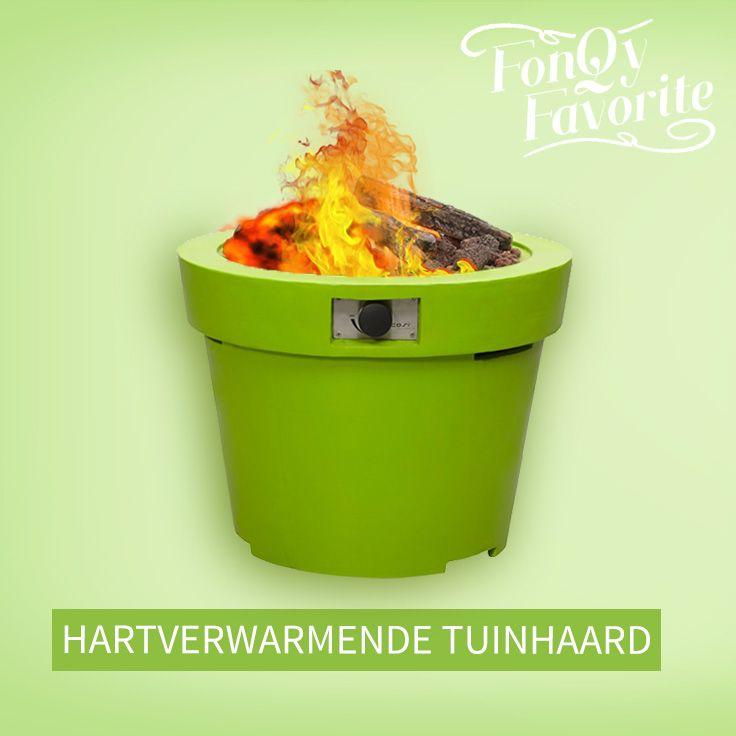 This Cosi is on fire! Heerlijk om marshmallows boven te roosteren of jezelf op te warmen! #tuinhaard #fonQyfavorite