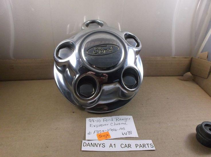 1998-2010 Ford Ranger Explorer Chrome wheel Center Cap  F87A 1A096 AB hubcap W88 #Ford