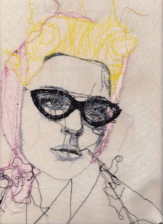 Saatchi Online Artist: Louise Jones; Fabric / Textile, 2010, Mixed Media Untitled