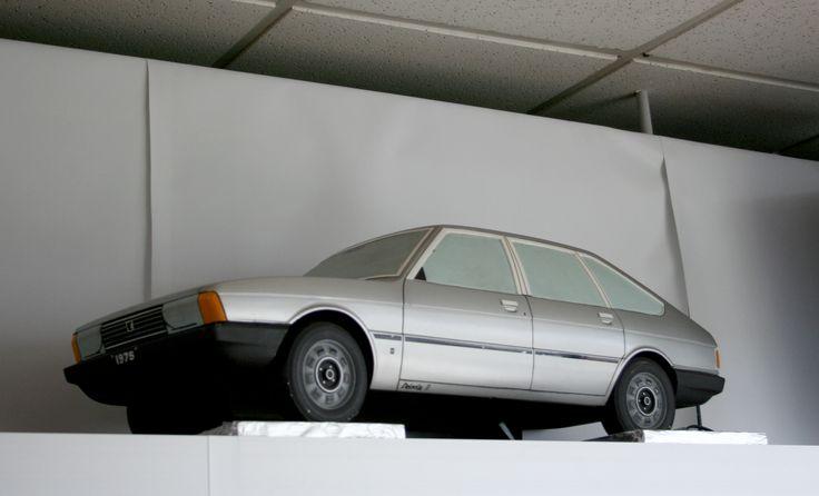 OG | Chrysler Alpine / Talbot 1307-1308 - Project C6 | Scale mock-up © Olivier Guin