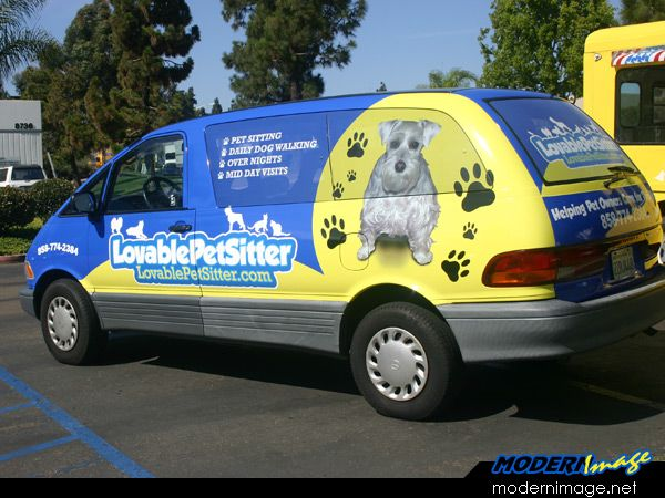 Best Pet Business Vehicles Images On Pinterest Vehicles - Modern business vehicle decals