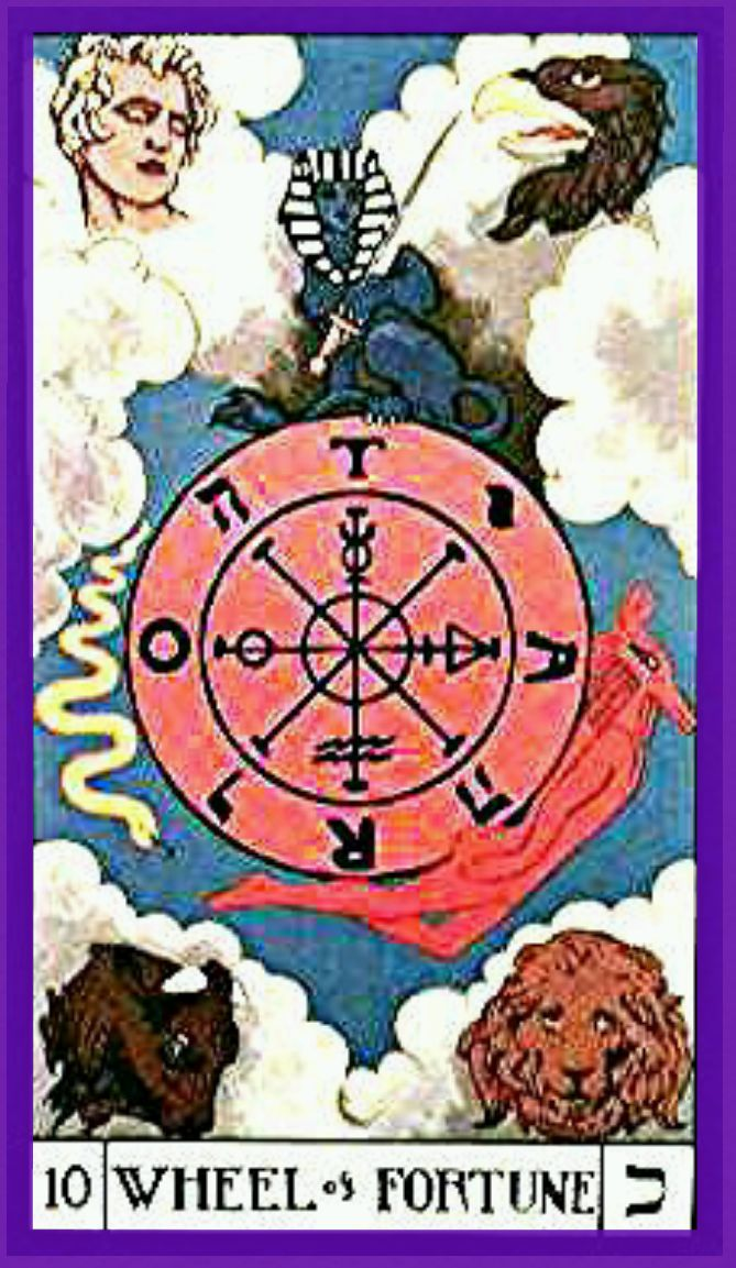 Thoth Fortune Tarot Card Tutorial: Arcanos Mayores Images On