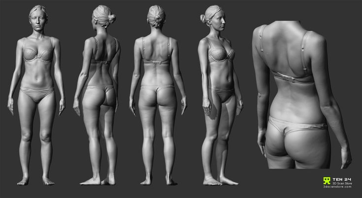 Reference Character Models - Page 8