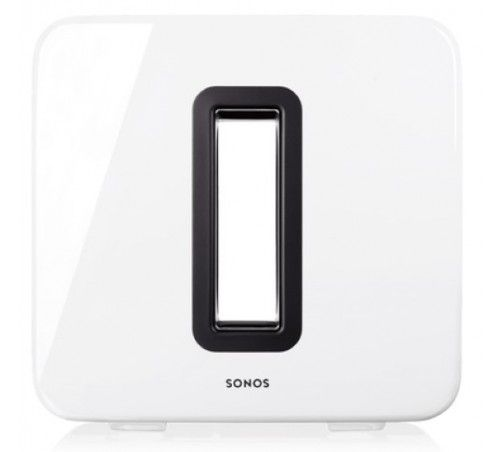 Sonos Sub Wireless Subwoofer Gloss White - Ortons AudioVisual