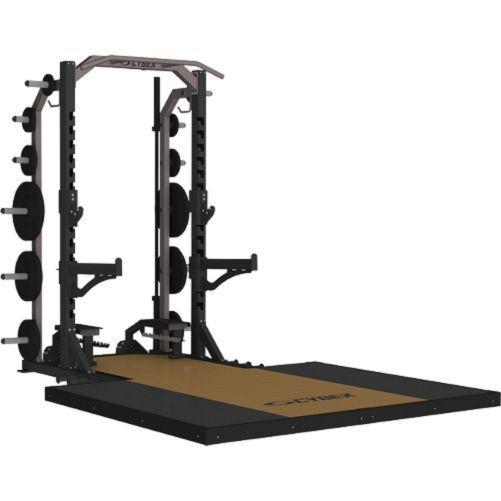 Cybex Big Iron 9' Half Rack #Cybex
