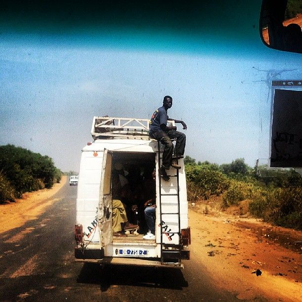 Sénégal, 2 semaine en famille en 2001