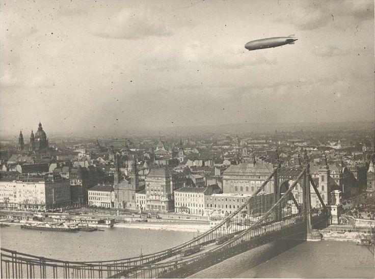 1931 - Graf Zeppelin over Budapest