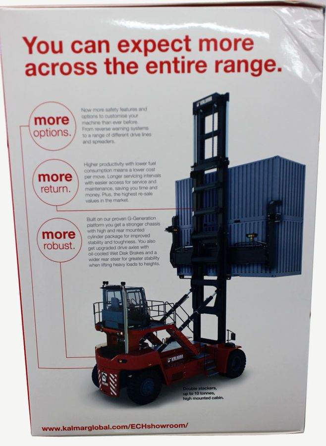 Kalmar 1:50 Dcg80-100 Empty Container Handler Range Stacker